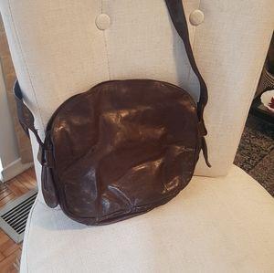 ENNY Italian VTG Leather Bag